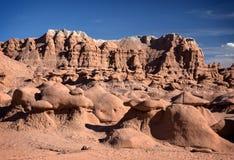 αμερικανική κοιλάδα γλυπτών κόκκινου ψαμμίτη λιβαδιών προέλευσης goblin φυσική απίστευτη Στοκ φωτογραφίες με δικαίωμα ελεύθερης χρήσης