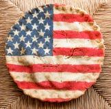 Αμερικανική πίτα Στοκ Φωτογραφία