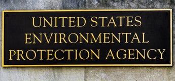 Αμερικανική περιβαλλοντική Protectioin αντιπροσωπεία EPA Washington DC σημαδιών στοκ φωτογραφία με δικαίωμα ελεύθερης χρήσης