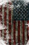 Αμερικανική ριγωτή σημαία απεικόνιση αποθεμάτων
