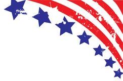 αμερικανική σημαία ανασκόπησης Στοκ Εικόνες