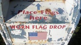 αμερικανική σημαία απελ&epsil στοκ φωτογραφία με δικαίωμα ελεύθερης χρήσης