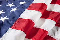 Αμερικανική σημαία για αυτό το τέταρτο του Ιουλίου Στοκ Εικόνες