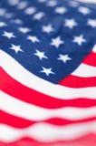 Αμερικανική σημαία για τη ημέρα της ανεξαρτησίας Στοκ εικόνες με δικαίωμα ελεύθερης χρήσης