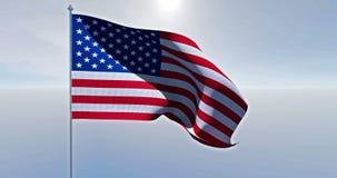 αμερικανική σημαία ΗΠΑ διανυσματική απεικόνιση