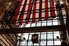 αμερικανική σημαία Νέα Υόρκη πόλεων στοκ εικόνες με δικαίωμα ελεύθερης χρήσης