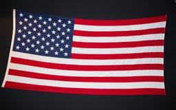 Αμερικανική σημαία σε έναν πίνακα κιμωλίας στοκ φωτογραφία με δικαίωμα ελεύθερης χρήσης