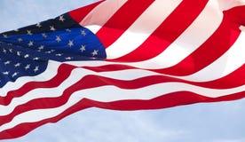 αμερικανική σημαία 019 Στοκ φωτογραφίες με δικαίωμα ελεύθερης χρήσης