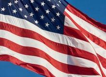 αμερικανική σημαία Στοκ Φωτογραφία