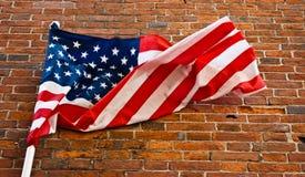 αμερικανική σημαία Στοκ εικόνα με δικαίωμα ελεύθερης χρήσης