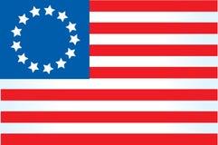 αμερικανική σημαία 4 Στοκ Εικόνες