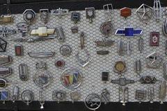 Αμερικανική συλλογή σημαδιών αυτοκινήτων Στοκ Φωτογραφίες