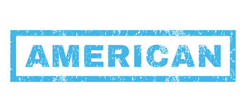 Αμερικανική σφραγίδα Στοκ φωτογραφία με δικαίωμα ελεύθερης χρήσης