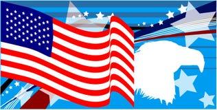 αμερικανική υπερηφάνεια Στοκ εικόνες με δικαίωμα ελεύθερης χρήσης