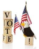 αμερικανική ψηφοφορία Στοκ Φωτογραφίες
