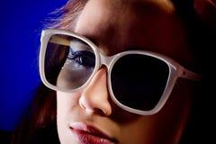 αμερικανική όμορφη γυναίκ Στοκ φωτογραφία με δικαίωμα ελεύθερης χρήσης