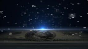 ΑΜΕΡΙΚΑΝΙΚΑ χρήματα Χρήματα των Ηνωμένων Πολιτειών της Αμερικής 8 διανυσματική απεικόνιση