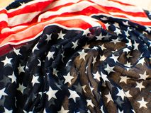 ΑΜΕΡΙΚΑΝΙΚΗ σημαία για το 4ο του Ιουλίου στο άσπρο υπόβαθρο δ για 4ο Independense της ημέρας Ιουλίου Τέταρτο του Ιουλίου που γιορ στοκ φωτογραφίες με δικαίωμα ελεύθερης χρήσης