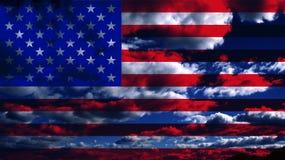 ΑΜΕΡΙΚΑΝΙΚΗ σημαία στοκ φωτογραφία με δικαίωμα ελεύθερης χρήσης