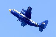 Αμερικανικοί μπλε ναυτικοί άγγελοι παχύς Αλβέρτος Στοκ εικόνα με δικαίωμα ελεύθερης χρήσης