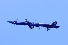 Αμερικανικοί μπλε ναυτικοί άγγελοι Airshow Στοκ εικόνες με δικαίωμα ελεύθερης χρήσης