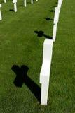 Αμερικανικοί πολεμικοί τάφοι Στοκ Εικόνες