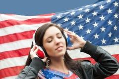 αμερικανικοαγγλική εκμάθηση γλωσσών κοριτσιών Στοκ φωτογραφία με δικαίωμα ελεύθερης χρήσης