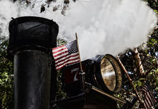 ΑΜΕΡΙΚΑΝΙΚΟΣ ατμός Στοκ φωτογραφίες με δικαίωμα ελεύθερης χρήσης