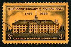 ΑΜΕΡΙΚΑΝΙΚΟ γραμματόσημο αιθουσών Nassau Στοκ Εικόνα