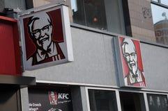 ΑΜΕΡΙΚΑΝΙΚΟ ΕΣΤΙΑΤΟΡΙΟ ΑΛΥΣΙΔΩΝ ΤΗΣ KFC ΣΤΗΝ ΚΟΠΕΓΧΑΓΗ Στοκ Εικόνα