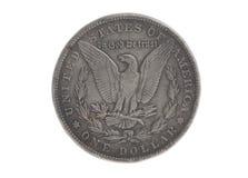 Αμερικανικός ασημένιος αετός νόμισμα ενός δολαρίου Στοκ φωτογραφίες με δικαίωμα ελεύθερης χρήσης