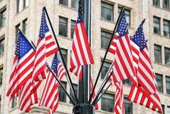 αμερικανικός διανυσματικός Ιστός απεικόνισης σημαιών Στοκ φωτογραφία με δικαίωμα ελεύθερης χρήσης