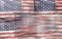 αμερικανικός διανυσματικός Ιστός απεικόνισης σημαιών Στοκ Εικόνες