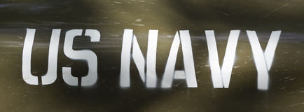 Αμερικανικός Ναυτικό Στοκ Εικόνα