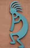 αμερικανικός ντόπιος kokopelli στοκ φωτογραφία με δικαίωμα ελεύθερης χρήσης