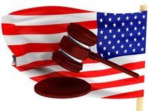 Αμερικανικός νόμος Στοκ Εικόνα