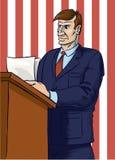 αμερικανικός ομιλητής χρ& Στοκ Φωτογραφία