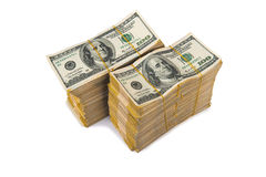Αμερικανικός σωρός δολαρίων στοκ φωτογραφία με δικαίωμα ελεύθερης χρήσης