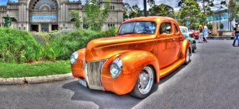 αμερικανικός τρύγος GAL έκθεσης αυτοκινήτων στοκ εικόνες