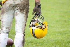 αμερικανικός footbal φορέας Στοκ Φωτογραφίες