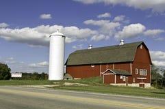 Αμερικανικό αγρόκτημα για την πώληση Στοκ φωτογραφία με δικαίωμα ελεύθερης χρήσης