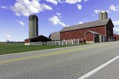 αμερικανικό αγρόκτημα χωρών Στοκ φωτογραφία με δικαίωμα ελεύθερης χρήσης