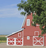αμερικανικό αγρόκτημα χωρ Στοκ εικόνες με δικαίωμα ελεύθερης χρήσης