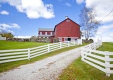 Αμερικανικό αγρόκτημα Στοκ φωτογραφίες με δικαίωμα ελεύθερης χρήσης