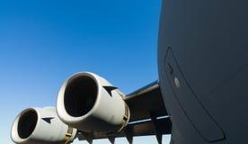 Αμερικανικό αεριωθούμενο αεροπλάνο μεταφορών γ-17 Globemaster Στοκ Φωτογραφίες