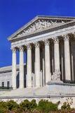 Αμερικανικό ανώτατο δικαστήριο Κάπιτολ Χιλλ το πρωινό Washington DC Στοκ Εικόνες