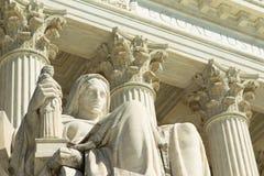Αμερικανικό ανώτατο δικαστήριο, Στοκ Εικόνα