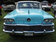 Αμερικανικό αυτοκίνητο αστεριών και λωρίδων στοκ φωτογραφίες