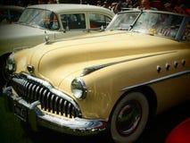 Αμερικανικό αυτοκίνητο αστεριών και λωρίδων Στοκ Εικόνα