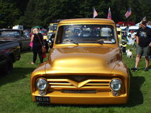 Αμερικανικό αυτοκίνητο αστεριών και λωρίδων Στοκ Εικόνες